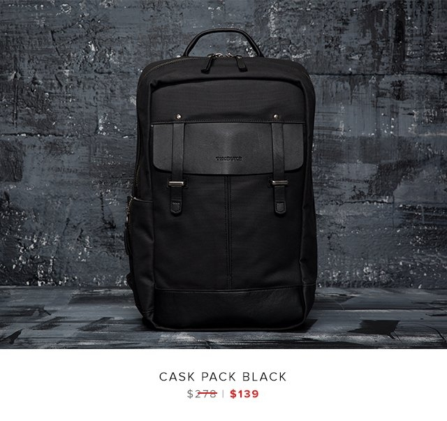 Cask Pack Black was $278 | now $139