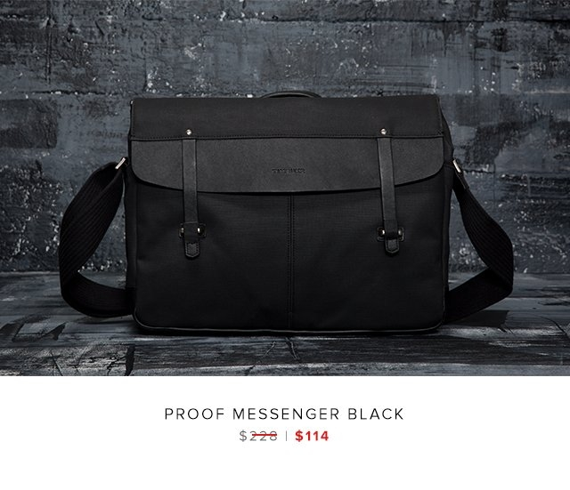 Proof Messenger Black was $228 | now $114