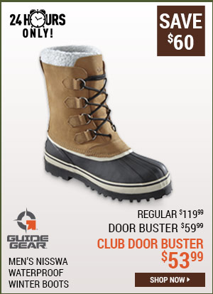 Guide Gear Men's Nisswa Waterproof Winter Boots