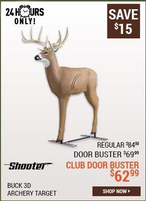 Shooter Buck 3D Archery Target