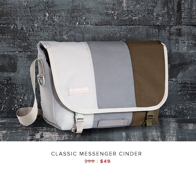classic messenger cinder was $99 | now $49