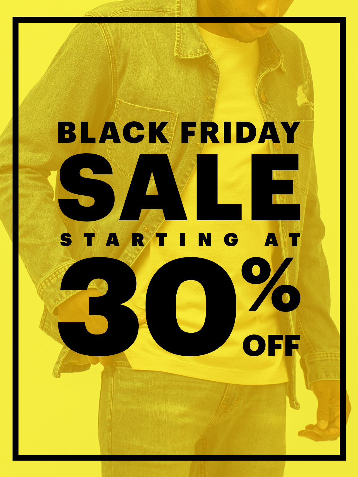 Black Friday Starts Now! 30% Off Sale