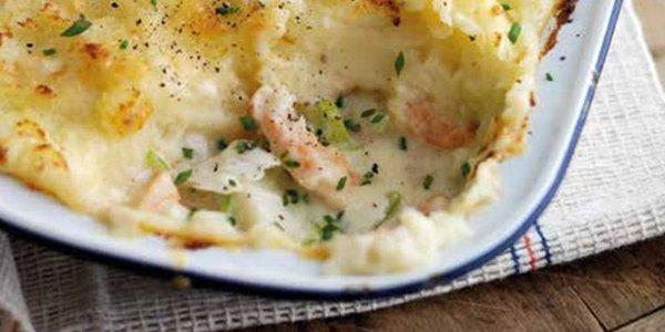 Fish pie recipe >