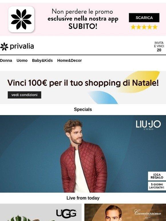 Privalia liu jo uomo ugg saucony originals camicissima for Contatti privalia
