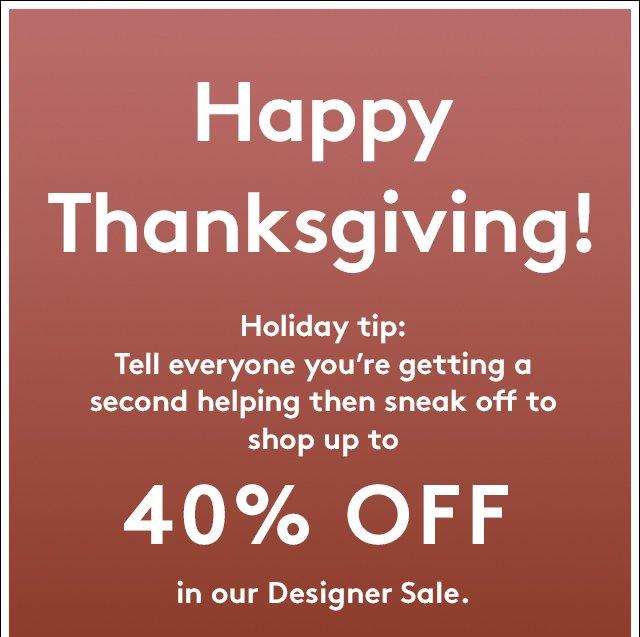 Today's to do list: turkey, pie, shop!