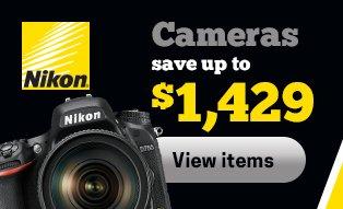Nikon Camera Savings
