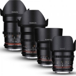 T1.5 Cine DS 4-Lens Bundle