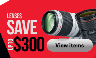Canon Lens Savings