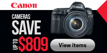 Canon Camera Savings