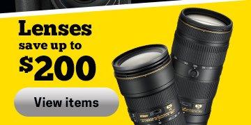 Nikon Lens Savings