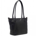 Leather Capri Camera Tote Bag