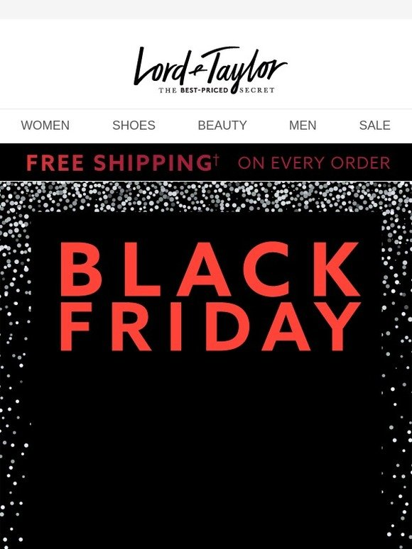 f8473d84e72d8 Lord & Taylor: Black Friday keeps getting better: NEW DEALS ADDED + $20  OFF! | Milled