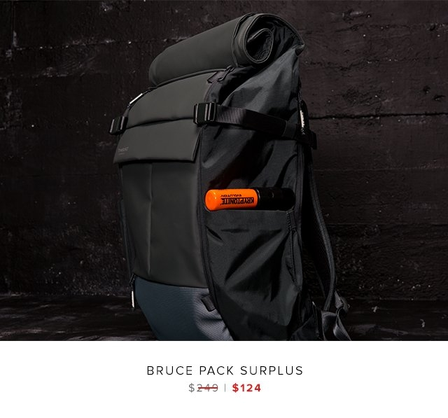 Bruce Pack Surplus was $249 | now $124