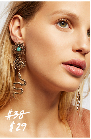 Suki Charm Drop Dangle Earring