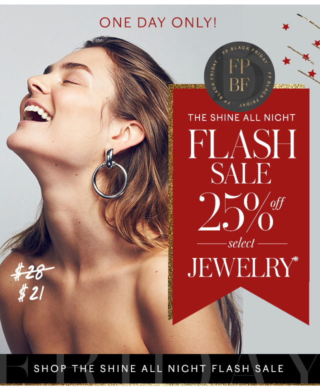 Shop the Shine All Night Flash Sale