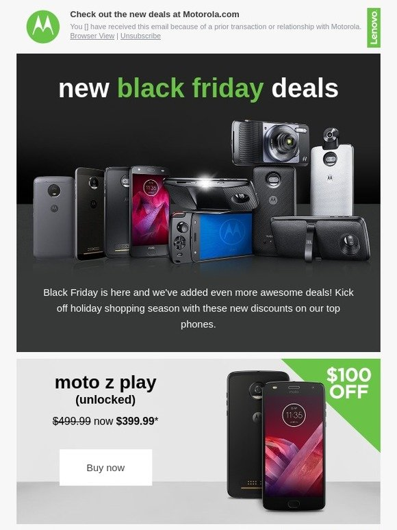 Motorola Mobility Black Friday Deals Are Here Milled