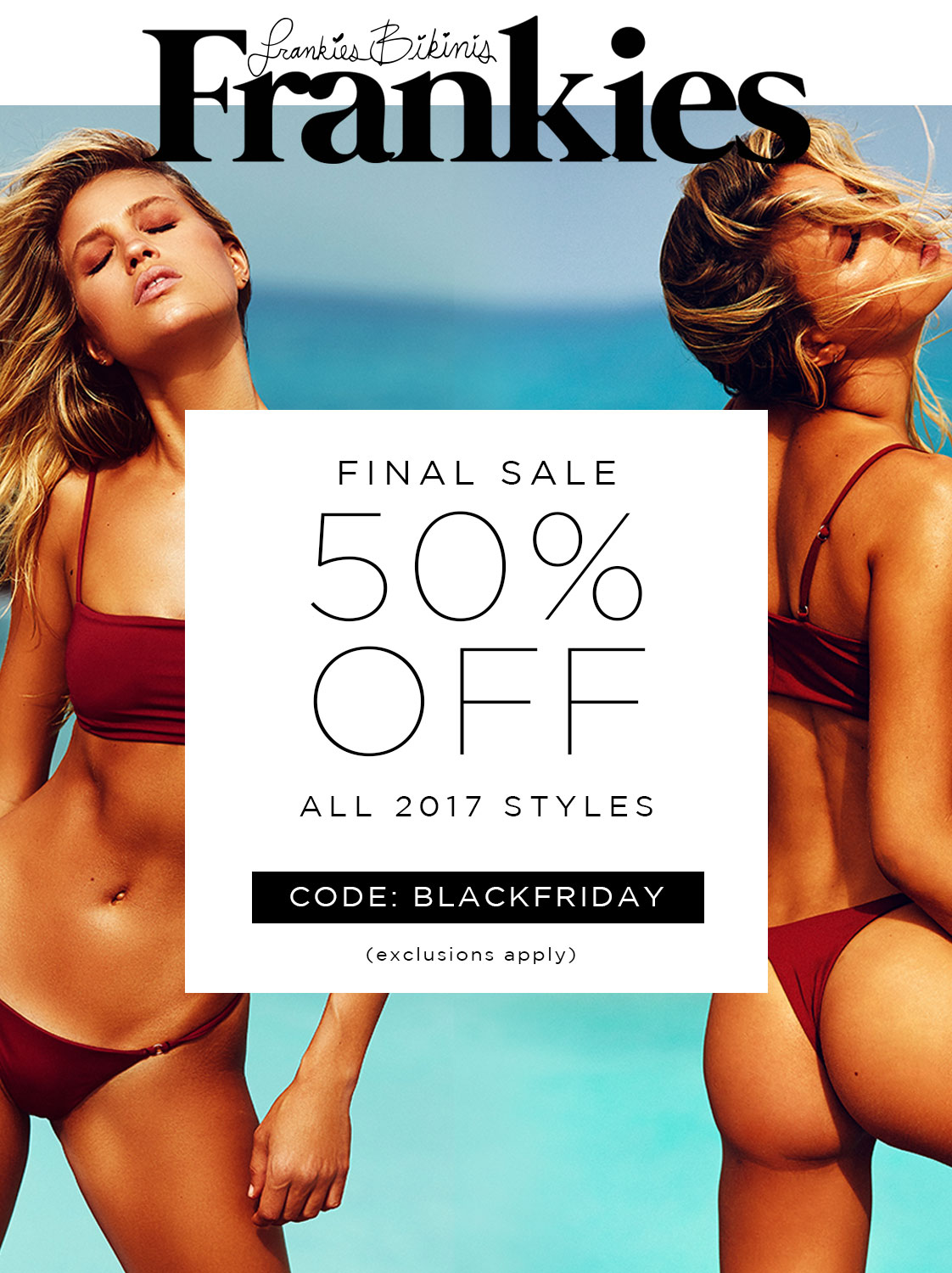 5c6556660c8d4 Black Friday starts NOW! Take 50% Off + enjoy Free Shipping on all domestic  orders. Hurry, sale ends soon!