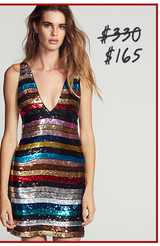 Ruby Sequin Mini Dress