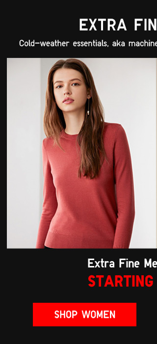 EXTRA FINE MERINO SWEATERS STARTING AT $29.90 - Shop Women