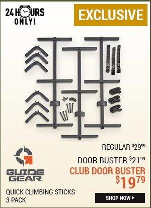 Guide Gear Quick Climbing Sticks, 3 Pack