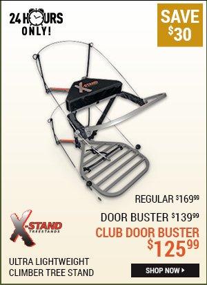 X-Stand Ultra Lightweight Climber Tree Stand