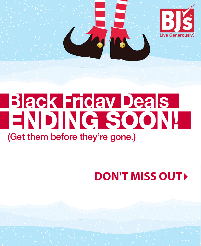 Black Friday Reminder
