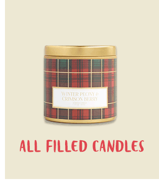 BOGO All Filled Candles