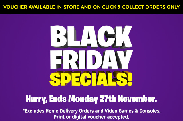 Black Friday Vouchers