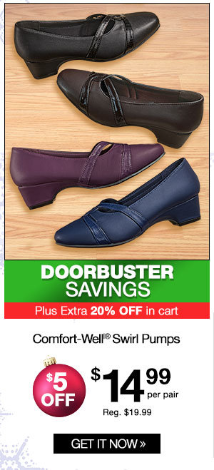 Comfort-Well Swirl Pumps