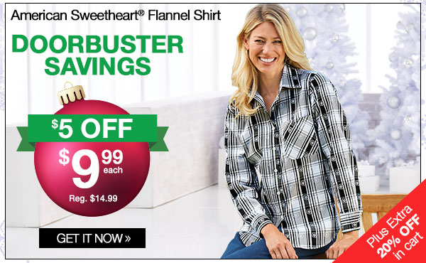 American Sweetheart Flannel Shirt