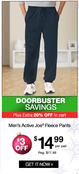 Men's Active Joe Fleece Pants