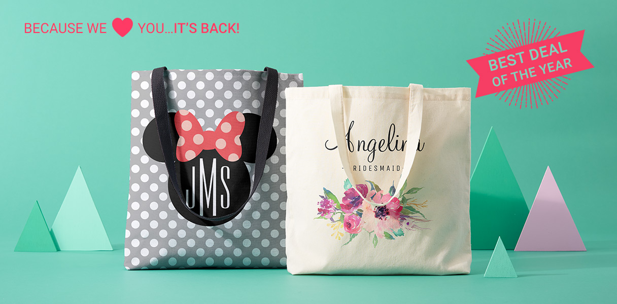 493a210c1b1d Zazzle: It's Baaaaack: 50% Off Totes | Milled