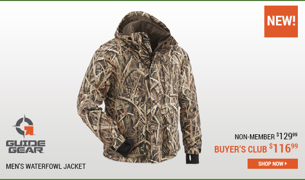 Guide Gear Men's Waterfowl Jacket