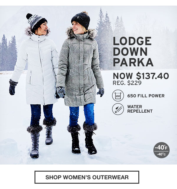 40% OFF YOUR PURCHASE | SHOP WOMEN'S OUTERWEAR