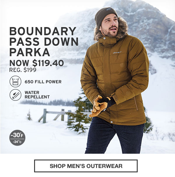 40% OFF YOUR PURCHASE | SHOP MEN'S OUTERWEAR