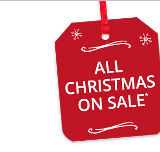 All Christmas on sale.