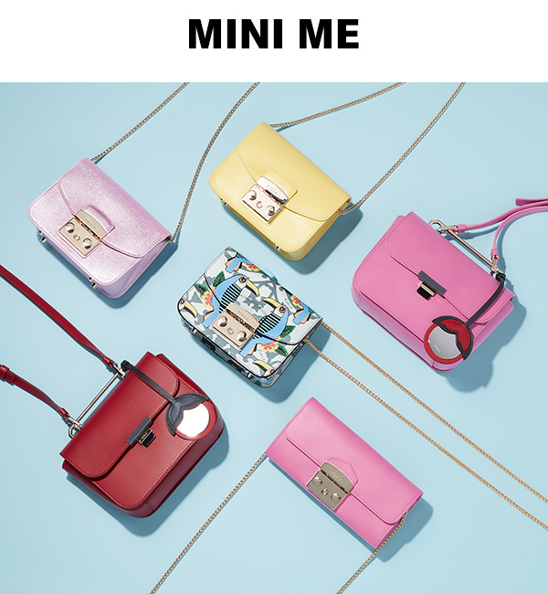 Small bags that pack a punch, featuring Furla.