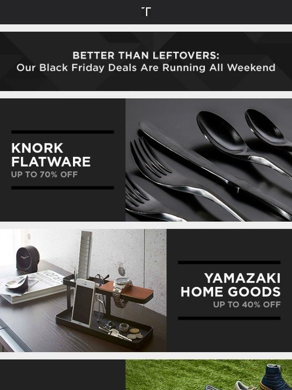 Touch Of Modern Black Friday Weekend Deals Up To 75 Off Yamazaki