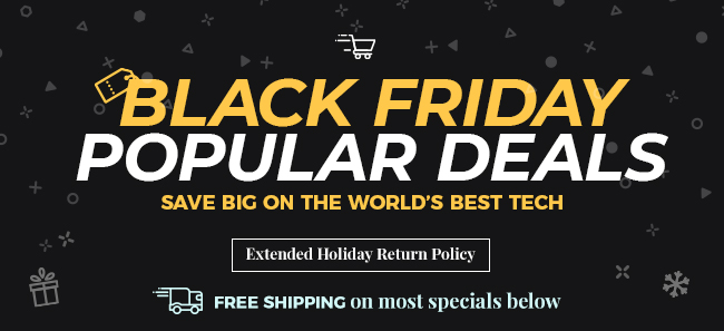Black Friday Popular Deals - FREE SHIPPING on most items