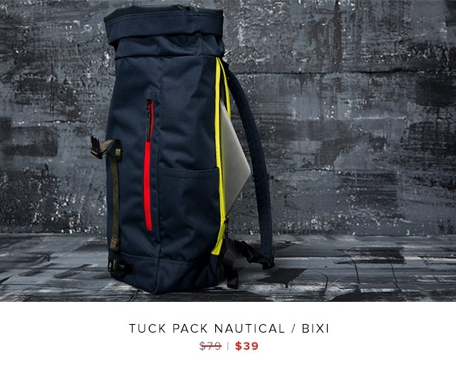 Tuck Pack Nautical / Bixi was $79 | now $39