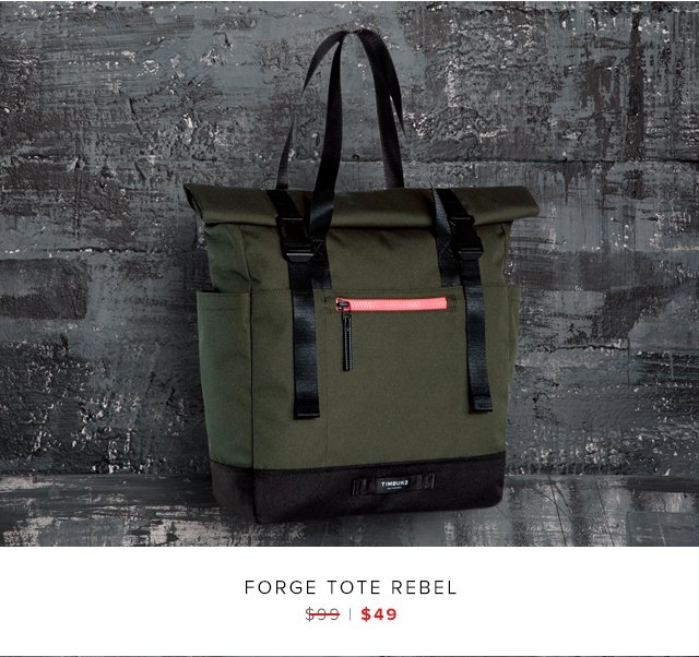 Forge Tote Rebel was $99 | now $49