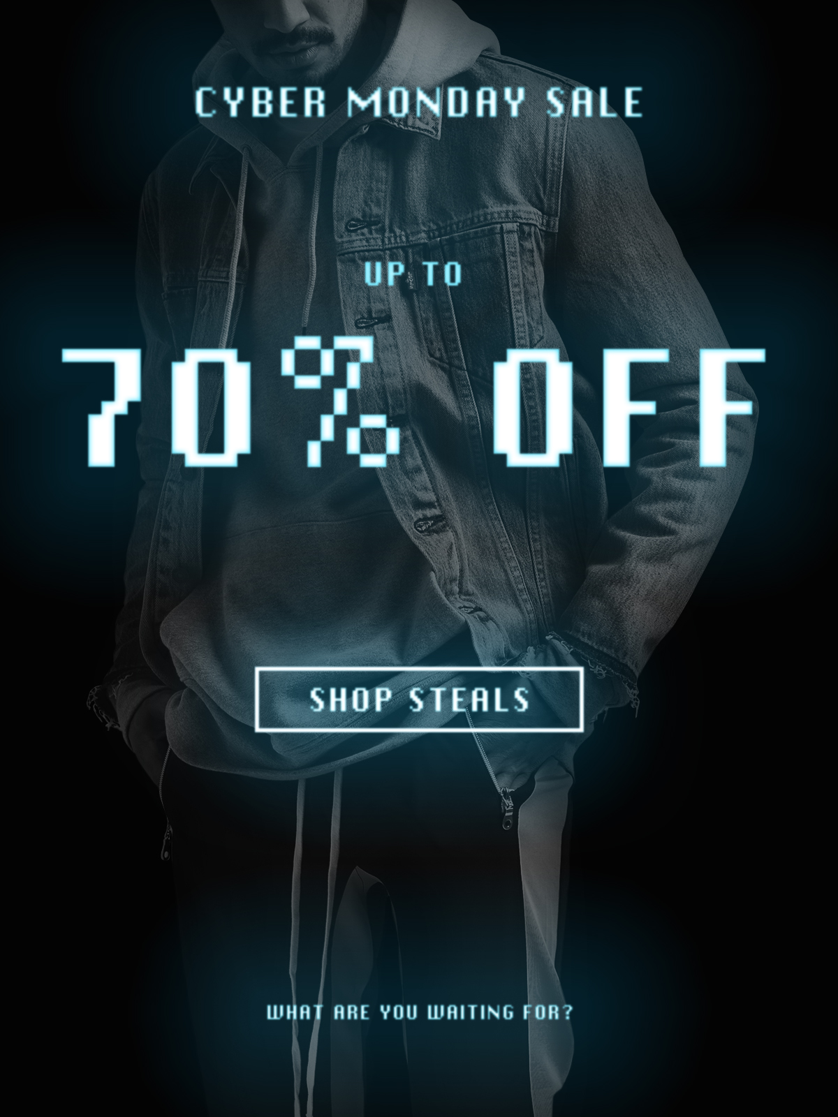 70% Off Cyber Monday Sale