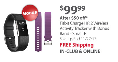Fitbit Charge HR 2 Wireless Activity Tracker