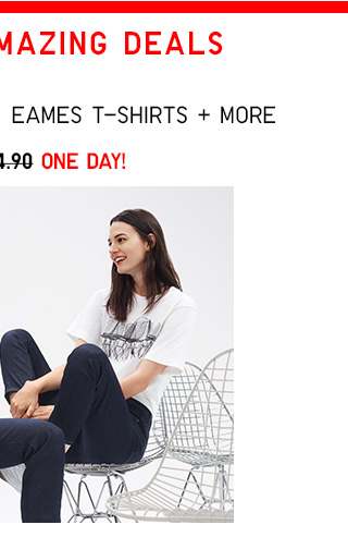 NOW $9.90 T: Graphic T-Shirts: Eames T-Shirts and more!  - Shop Women