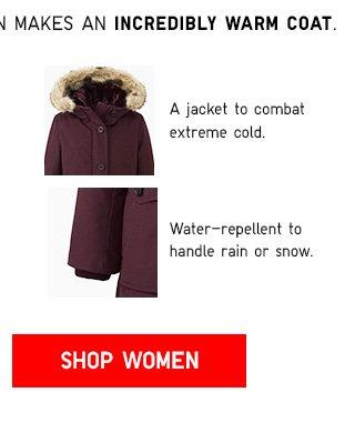 $50 OFF Ultra Warm Down Coat - Shop Women