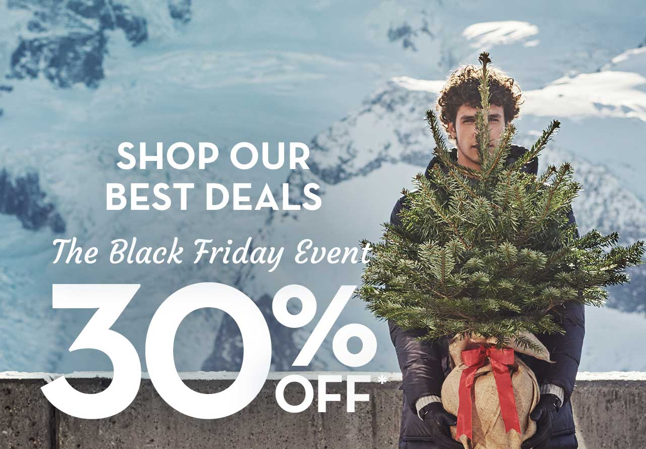 Shop Our Best Deals The Black Friday Event 30% Off*