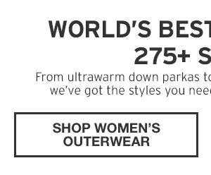 WORLD'S BEST OUTERWEAR | SHOP WOMEN'S OUTERWEAR