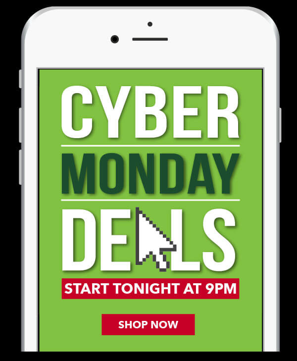 Cyber Monday Deals Start Tonight at 9pm. Here's Your Sneak Peek! PREVIEW NOW.