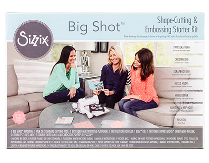 Sizzix Big Shot Shape Cutting and Embossing Starter Kit.