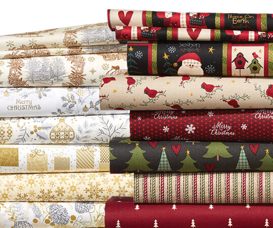 Christmas Cotton Prints.